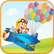 Activities of Monkey Balloon Games - Video of the Monkey Drop from an airplane
