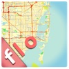 Florida offline map, guide & hotels (FREE edition)