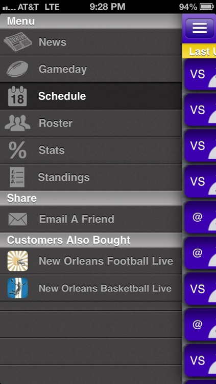 LSU Football Live screenshot-1