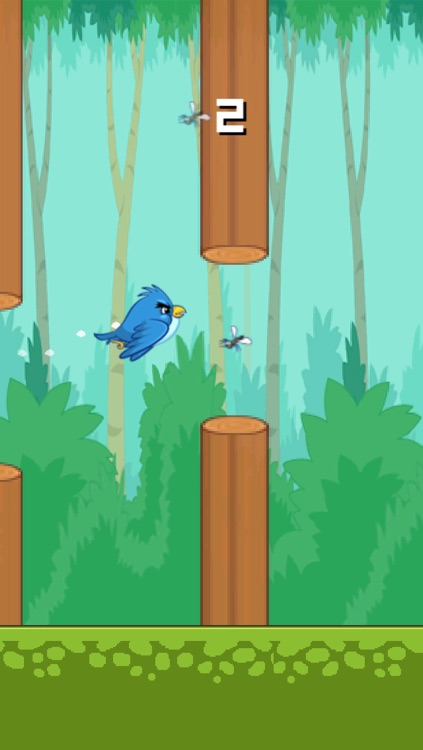 Tiny Flappy Hungry Bird - A clumsy little bird's endless search for food