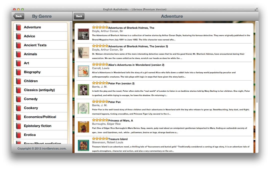 English Audiobooks - Librivox (Premium Version) - Online Game Hack