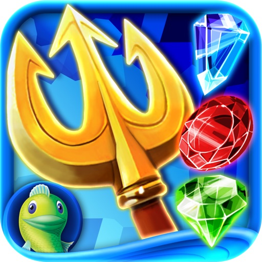 Jewel Legends: Atlantis - A Match 3 Puzzle Adventure icon