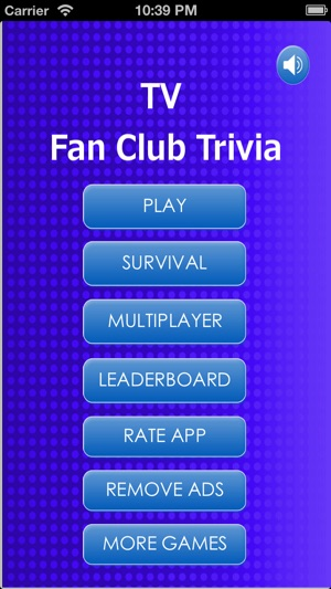 TV Fan Trivia for Kids and Junior, Online Quiz Game With