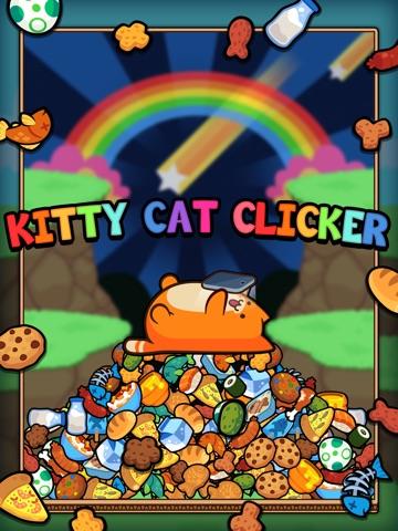 Игра Kitty Cat Clicker - Поток виртуальный кошку с печеньем и конфетами