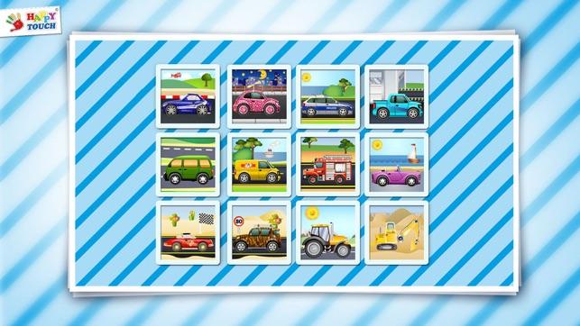Coches puzzle app para ni os peque os de las - Puzzles para ninos pequenos ...