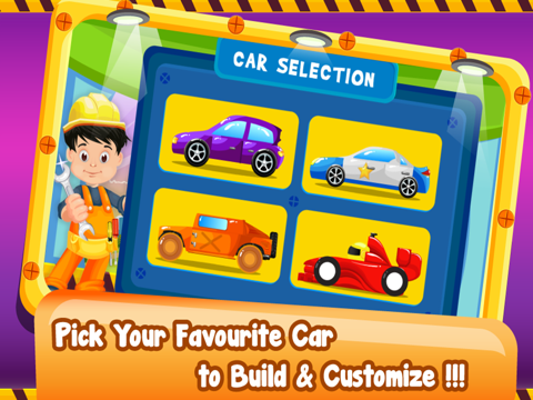 Little Car Builder- Tap to Make New Vehicles In Your Amazing Auto Factory-ipad-4