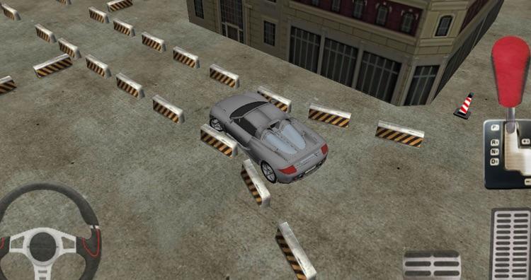 Car parking 3D sport car screenshot-3