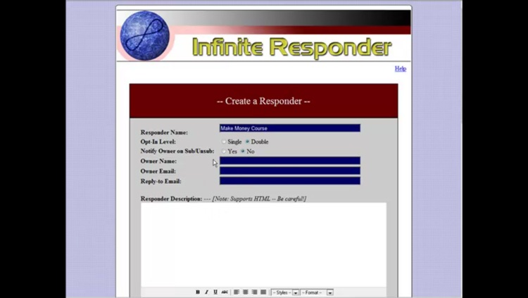 Install & Run An Autoresponder On Your Webspace screenshot-3