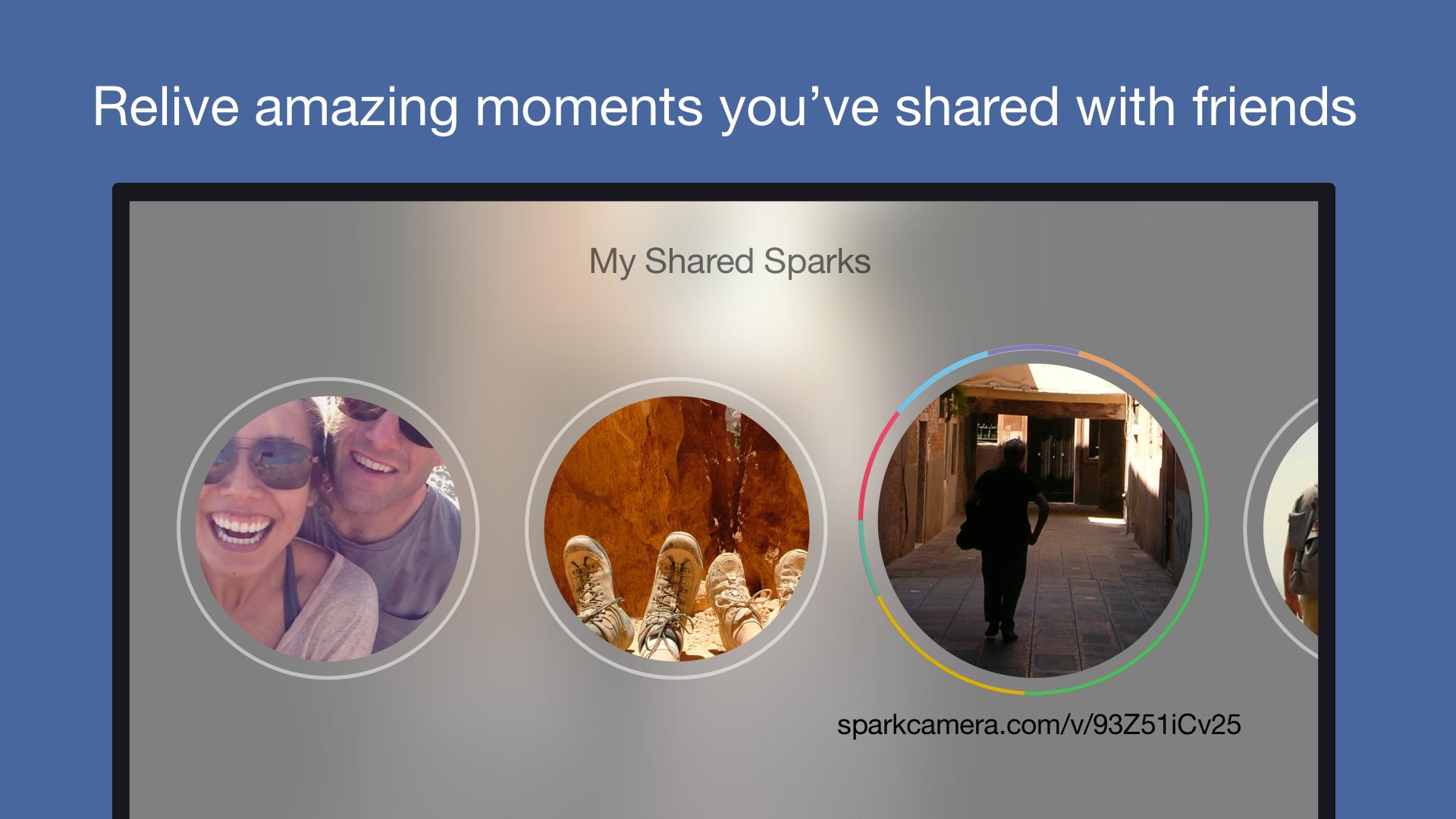 Spark Camera – capture, edit and share beautiful videos screenshot 12