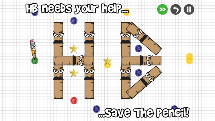 Save The Pencil - Join The Dots, Solve The Puzzle, Beat The Game! screenshot-3