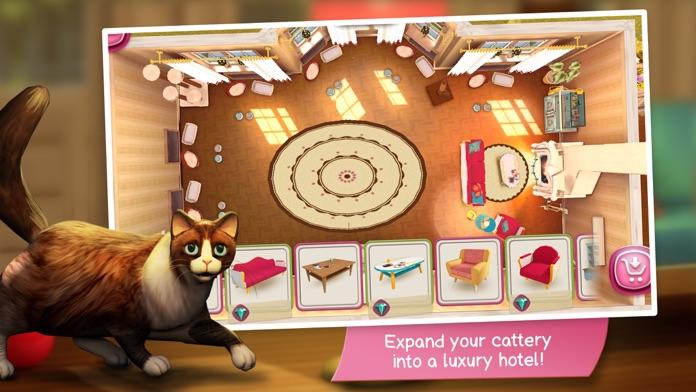 CatHotel - Care for cute cats Screenshot