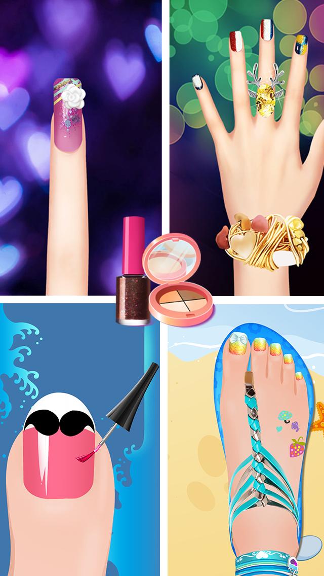 Nail Salon - Girls Gamesのおすすめ画像2