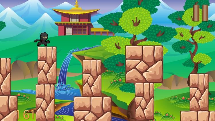 Ninja Shuriken Boy vs Samurai Block World Game screenshot-3
