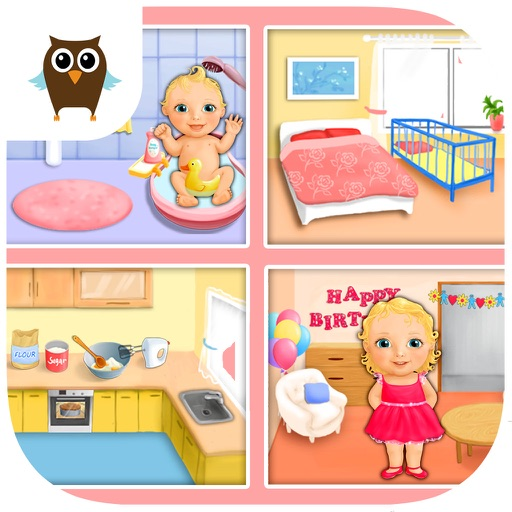 Sweet Baby Girl - Dream House and Play Time No Ads