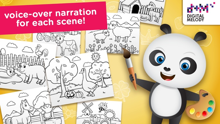 Joypa Colors Free - Interactive Coloring Game for Kids screenshot-3
