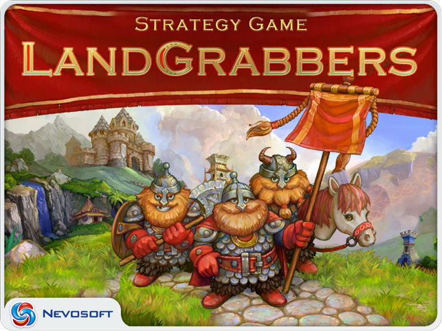 LandGrabbers: real time medieval conquest strategy Screenshot