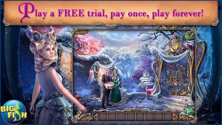 Sable Maze: Forbidden Garden - A Magical Hidden Object Game screenshot-0