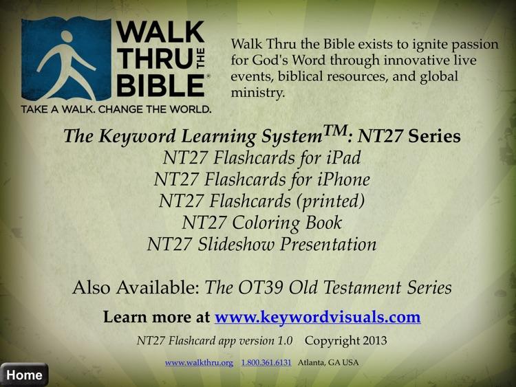 NT27 New Testament Flashcards HD screenshot-4