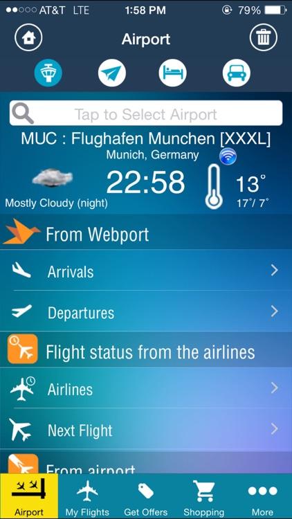 Munich Airport (MUC) Flight Tracker München