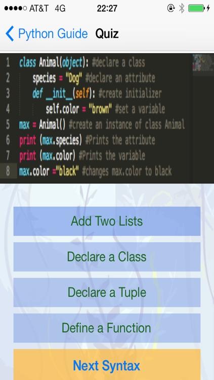 Python Tutorial and Flashcards screenshot-4