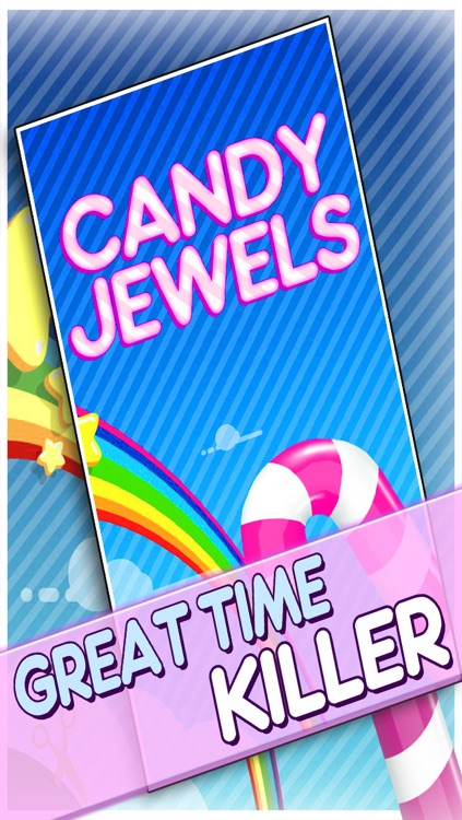 Candy Jewels Mania Puzzle Game - Fun Sugar Rush Match3 For Kids HD FREE screenshot-2