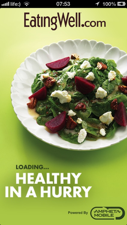 EatingWell Healthy in a Hurry screenshot-0