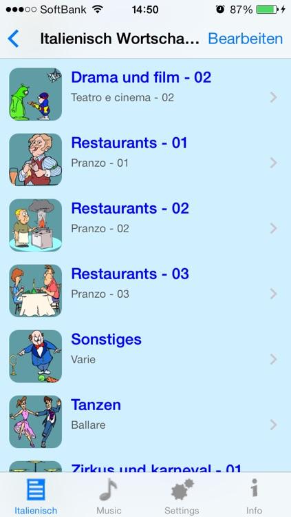 Italienisch - Talking German to Italian Phrasebook + Translator screenshot-3