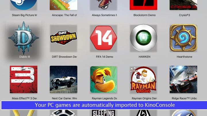 KinoConsole Pro Game Streaming Screenshots