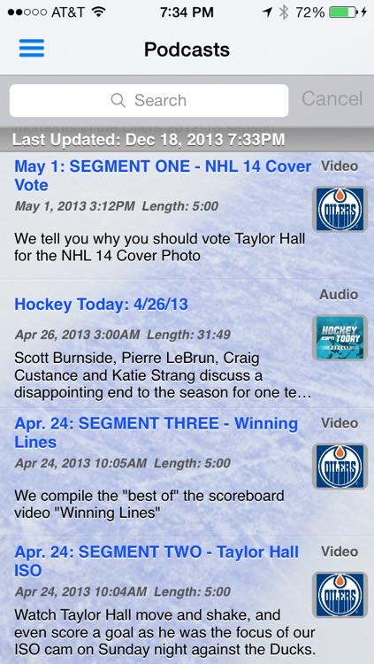 avLive - Pro Hockey Radio screenshot-4