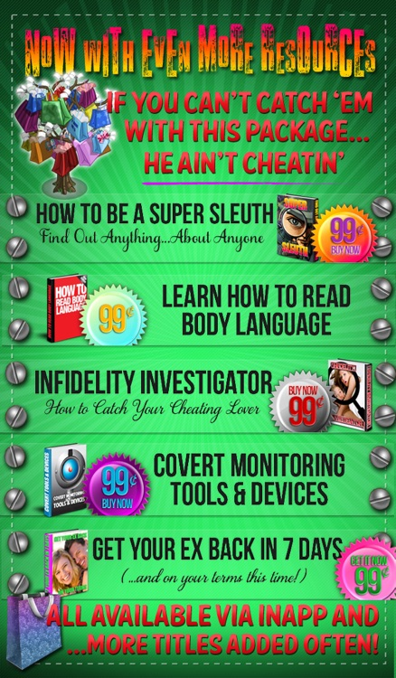 Catch Your Cheating Spouse! A Step-by-Step How To Spy and Phone Tracker Guide screenshot-3