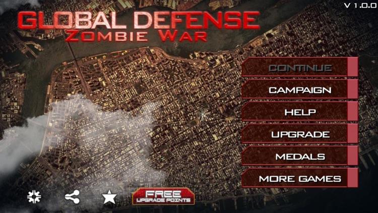 Global Defense: Zombie World War