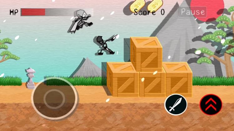 Ninja Stick Man Fighter screenshot-4