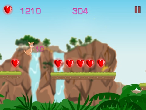 Kangaroo Runner - unstoppable jumping of a roo-ipad-0