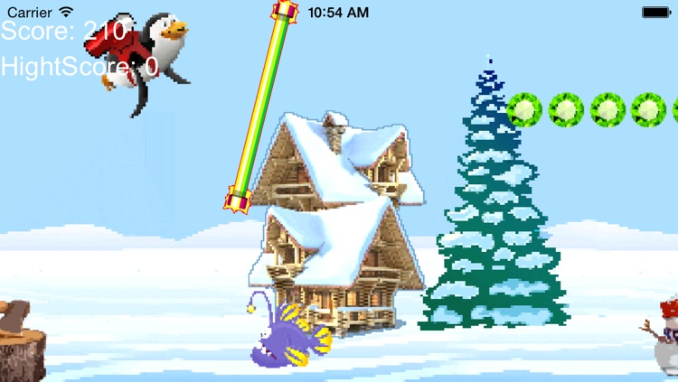Ice Racing - Flappy Pinguin Pixelated Edition screenshot-3