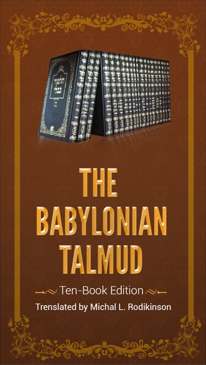 The Babylonian Talmud - 10 Book Edition