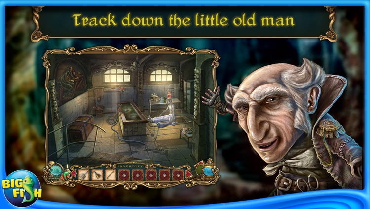Haunted Legends: The Undertaker - A Hidden Object Adventure screenshot-3