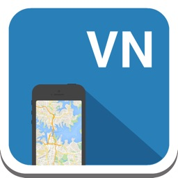 Vietnam & Hanoi offline map, guide, weather, hotels. Free GPS navigation.