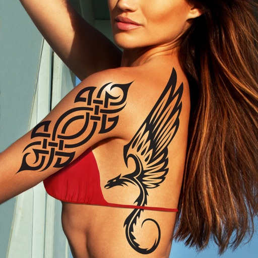 Tattoo My Photo Editor - Best Tattoos and Designs for Coolest Makeover with Fake Ink