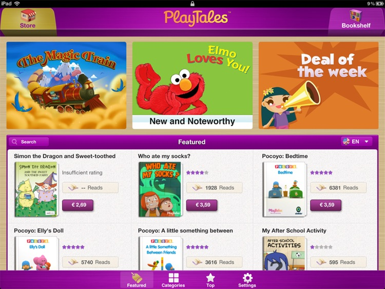 PlayTales! - Kids' Books