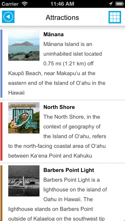 Oahu & Honolulu (Hawaii) offline map, guide, hotels. screenshot-4