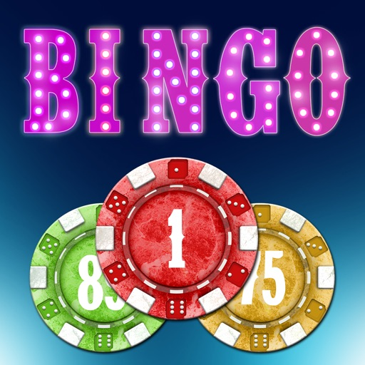 Las Vegas Bingo Mania - win casino gambling tickets icon