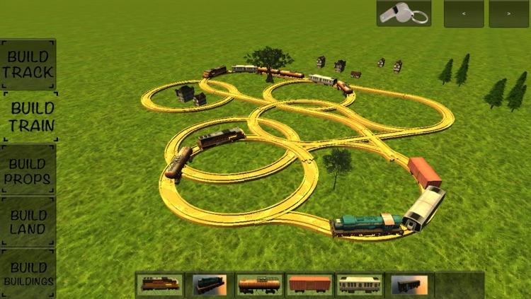 Kids Advanced Trains Construction