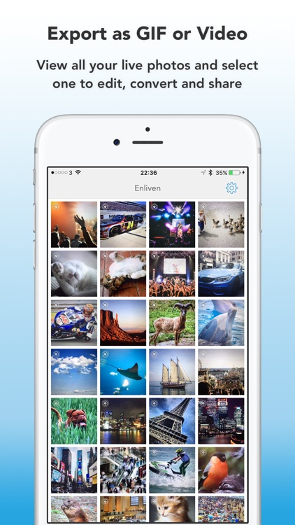Enliven : Edit, Convert and Share Live Photos as GIFs