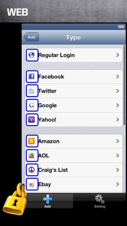 Safe Password free for iPhone screenshot-4