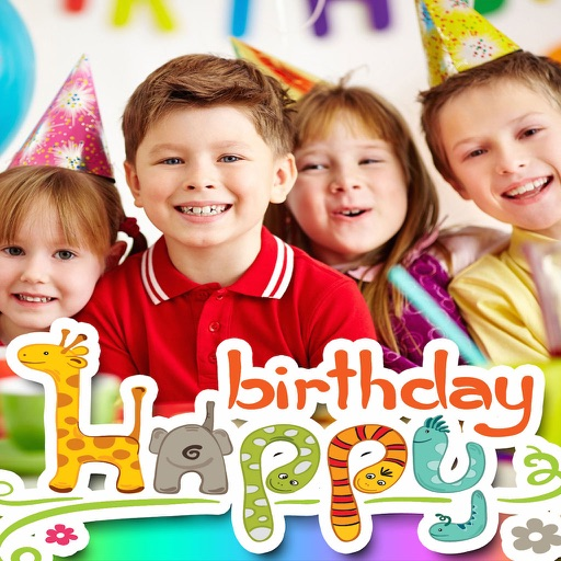Birthday Picture Frames and Wallpapers Pro icon
