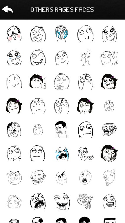 Funny Rages Faces - Stickers for WhatsApp, Viber, Telegram, Tango & Messengers Pro