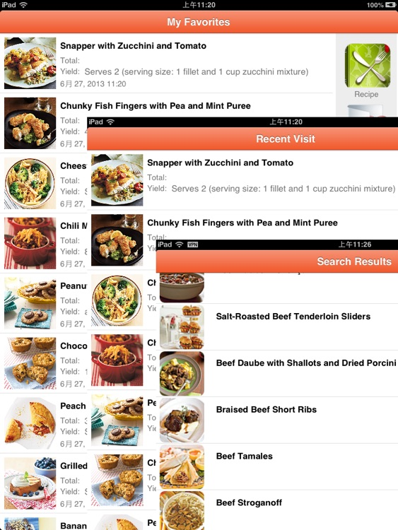 Recipes Books screenshot-3