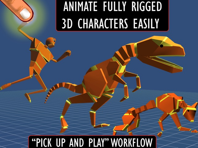 Anim8:3D Character Animation Made Easy Screenshot