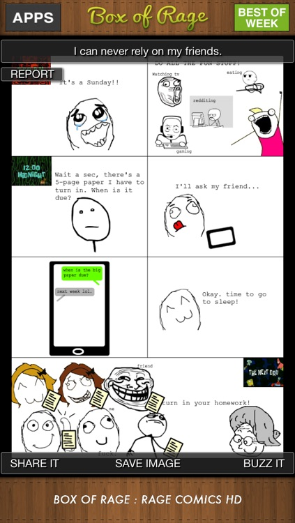 Rage Comics : BOX of RAGE