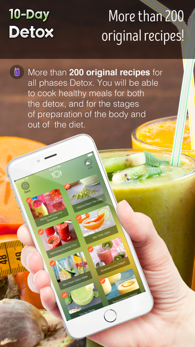 10-Day Detox - Healthy 10lbs weight loss in 10 days and complete cleansing and recovery of your body!のおすすめ画像2